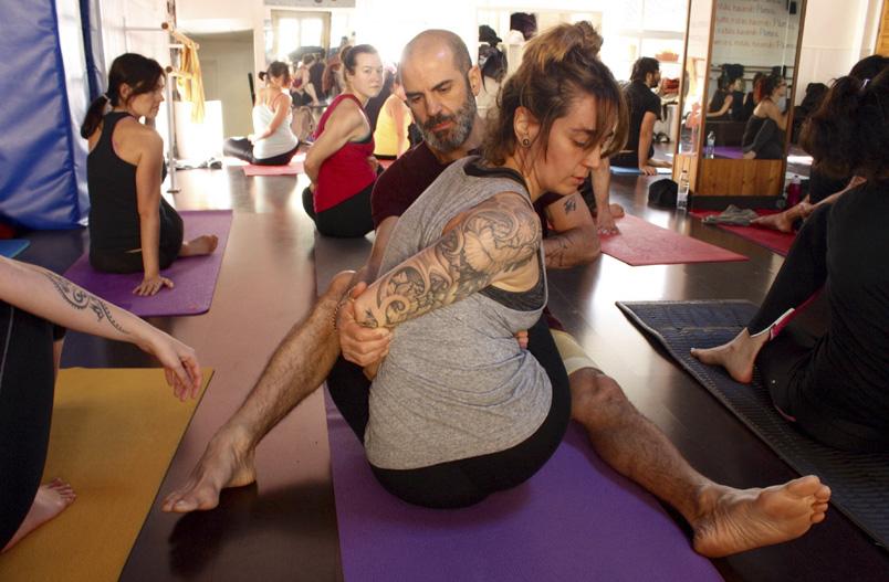 Clases de Yoga Ashtanga y Vinyasa Flow Yoga Party Espíritu23