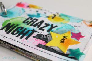 taller scrapbooking de ojos de papel en Espíritu23
