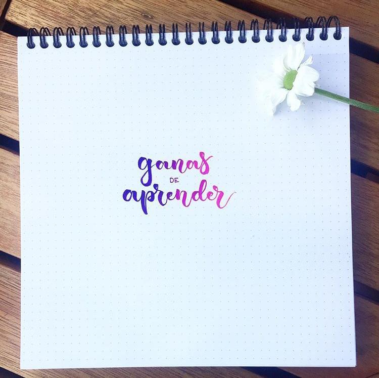 cursos de lettering con lettering album en Espíritu23