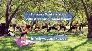 información semana santa yoga en El Casar Guadalajara