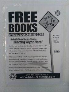 Cartel BookCrossing Espíritu23