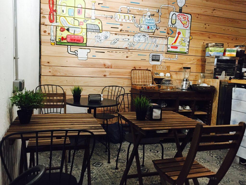 Café coworking Espíritu 23 exposiciones
