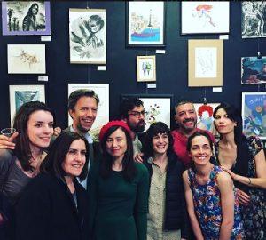 inauguración exposiciones arte Café Espíritu23