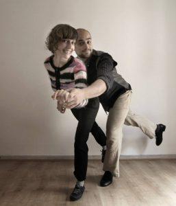 Pablo y Julia de Big South. Swing y lindy hop