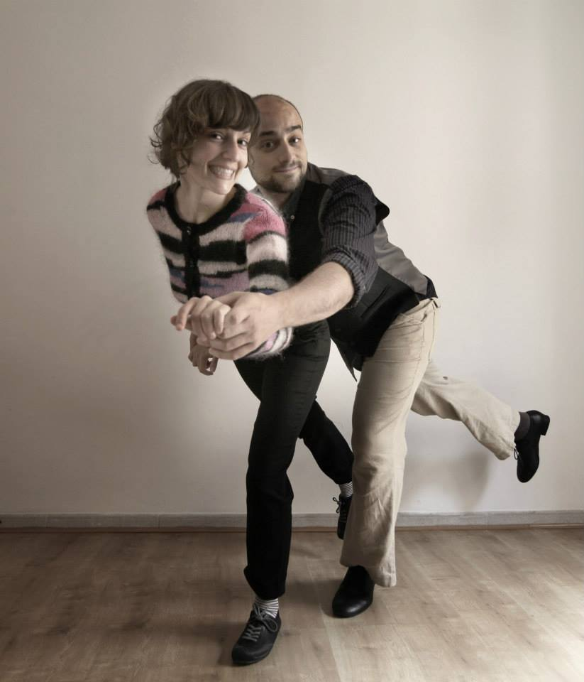 Pablo y Julia de Big South. Swing y lindy hop